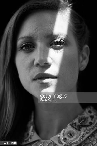 Actress Brittany Snow is photographed for Self Assignment on May 2017 in Cannes France