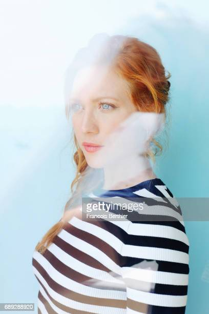Actress Brittany Snow is photographed on May 24 2017 in Cannes France