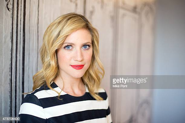 Actress Brittany Snow visits AOL Build at AOL Studios In New York on May 13, 2015 in New York City.