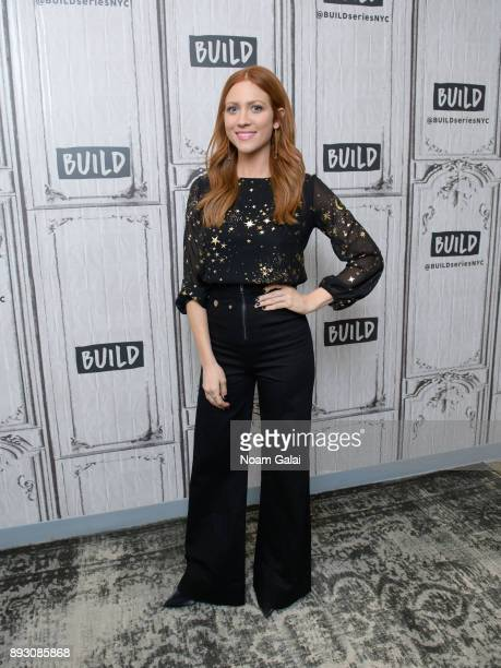 Actress Brittany Snow visits Build Series to discuss 'Pitch Perfect 3' at Build Studio on December 14 2017 in New York City