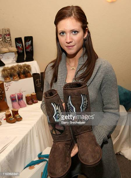 Actress Brittany Snow visits the Kari Feinstein Sundance Style Lounge on January 17, 2009 in Park City, Utah.