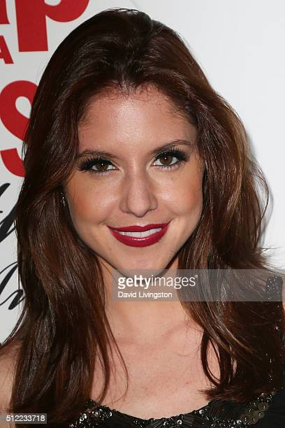 Actress Brittany Underwood arrives at the 40th Anniversary of the Soap Opera Digest at The Argyle on February 24 2016 in Hollywood California