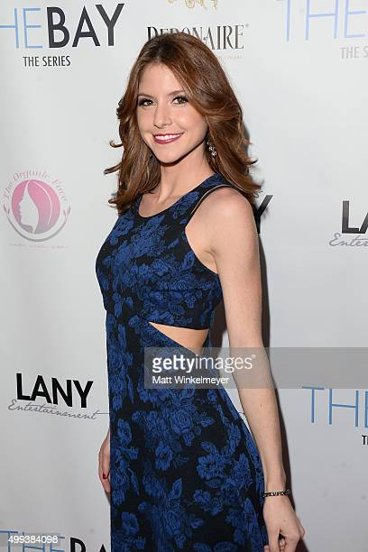 Actress Brittany Underwood arrives at the screening of LANY Entertainment's The Bay at DOMA on November 30 2015 in Beverly Hills California