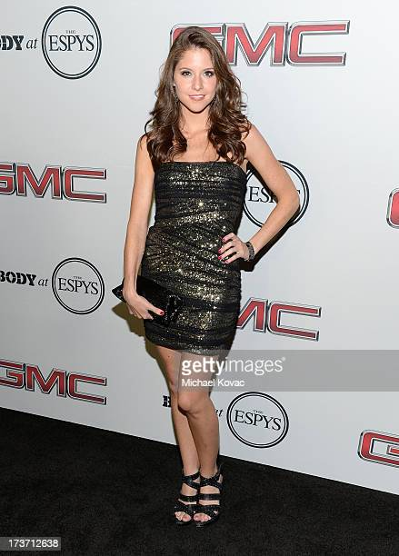 Actress Brittany Underwood attends ESPN The Magazine 5th annual Body Issue party at Lure on July 16 2013 in Hollywood California