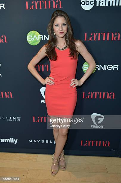 Actress Brittany Underwood attends Latina Magazine's 30 Under 30 Party at Mondrian Los Angeles on November 13 2014 in West Hollywood California