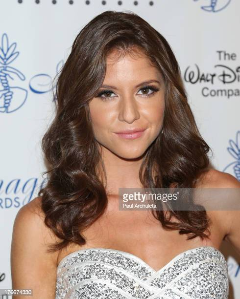 Actress Brittany Underwood attends the 28th annual Imagen Awards at The Beverly Hilton Hotel on August 16 2013 in Beverly Hills California