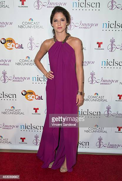 Actress Brittany Underwood attends The 29th Annual Imagen Awards at The Beverly Hilton Hotel on August 1 2014 in Beverly Hills California