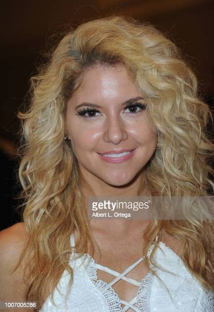Actress Brittany Underwood attends The Hollywood Show held at The Westin Hotel LAX on July 28 2018 in Los Angeles California