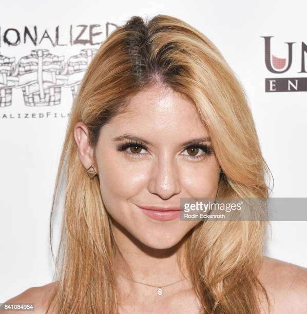 Actress Brittany Underwood attends the premiere of Uncork'd Entertainment's Circus Kane at Laemmle's Ahrya Fine Arts Theatre on August 30 2017 in...