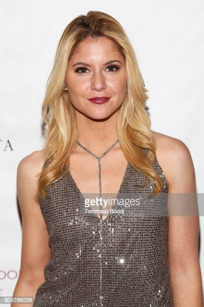 Actress Brittany Underwood attends the Red Carpet Screening of MarVista Entertainments The Neighborhood Nightmare with The Ninth House on February 25...