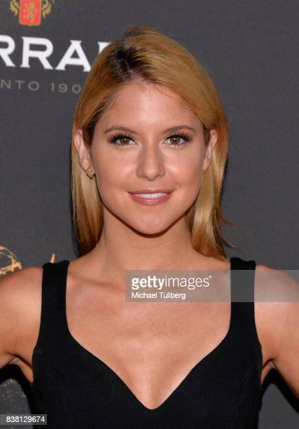 Actress Brittany Underwood attends the Television Academy's cocktail reception with stars of daytime television celebrating the 69th Emmy Awards at...