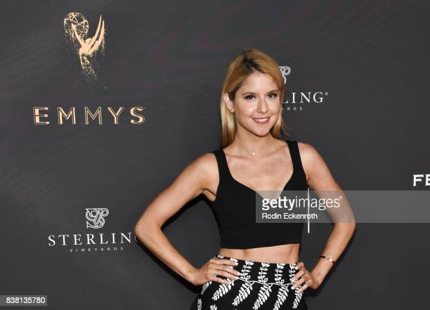 Actress Brittany Underwood attends the Television Academy's Cocktail Reception with Stars of Daytime Television Celebrating 69th Emmy Awards at Saban...