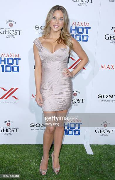 Actress Brittney Palmer arrives at the Maxim 2013 Hot 100 Party held at Create on May 15 2013 in Hollywood California