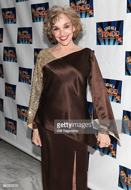 Actress Brooke Adams attends the opening night of Lend Me A Tenor after party at Espace on April 4 2010 in New York City
