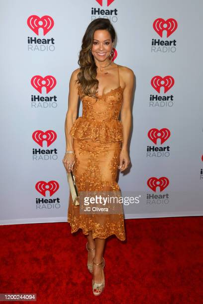 Actress Brooke Burke attends the 2020 iHeartRadio Podcast Awards at iHeartRadio Theater on January 17 2020 in Burbank California