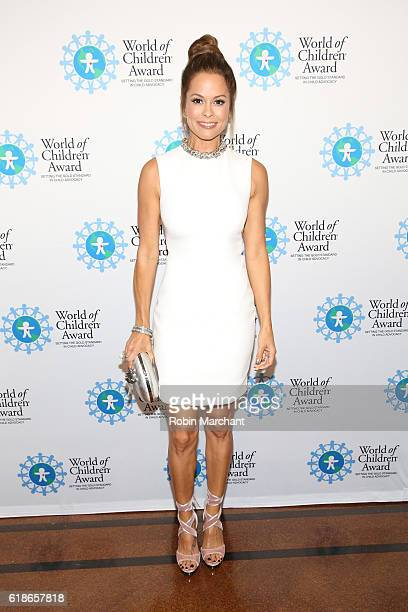 Actress Brooke Burke attends the World of Children Awards Ceremony on October 27, 2016 in New York City.