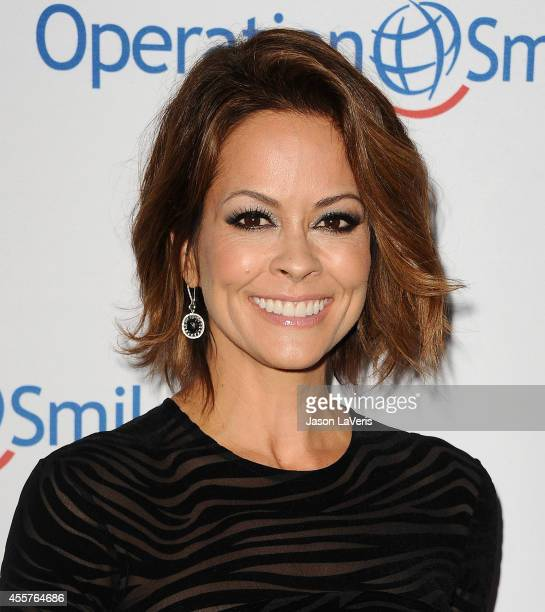Actress Brooke Burke Charvet attend the 2014 Operation Smile gala at the Beverly Wilshire Four Seasons Hotel on September 19 2014 in Beverly Hills...