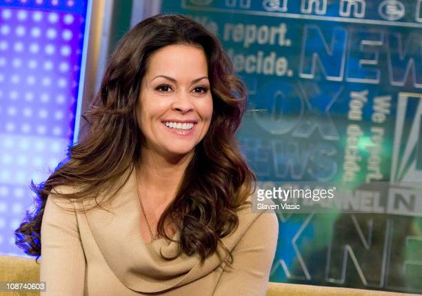 Actress Brooke Burke visits FOX Friends at FOX Studios on February 2 2011 in New York City