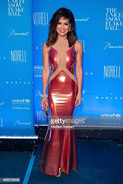 Actress Brooke Burke-Charvet attends the 11th Annual UNICEF Snowflake Ball at Cipriani Wall Street on December 1, 2015 in New York City.