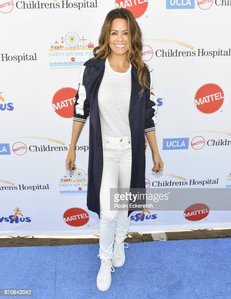 Actress Brooke BurkeCharvet attends the 18th Annual Mattel Party on the Pier at Pacific Park on Santa Monica Pier on November 5 2017 in Santa Monica...