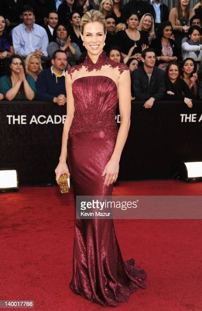 Actress Brooke Burns arrives at the 84th Annual Academy Awards held at the Hollywood Highland Center on February 26 2012 in Hollywood California