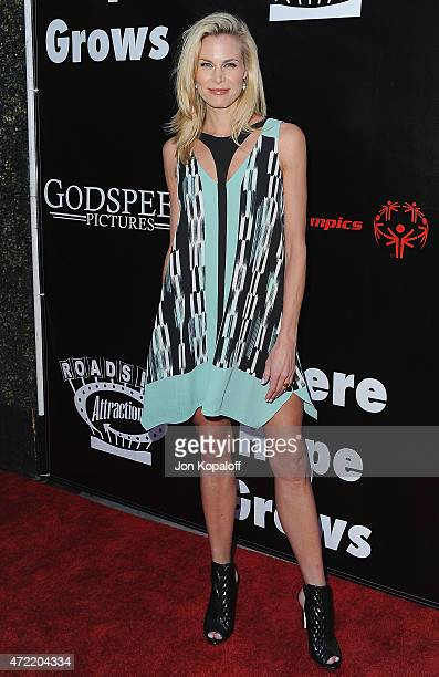 """Actress Brooke Burns arrives at the Los Angeles Premiere Of Roadside Attractions' & Godspeed Pictures' """"Where Hope Grows"""" at ArcLight Cinemas on May..."""