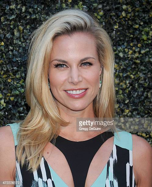 Actress Brooke Burns arrives at the Los Angeles premiere of Where Hope Grows at ArcLight Cinemas on May 4 2015 in Hollywood California