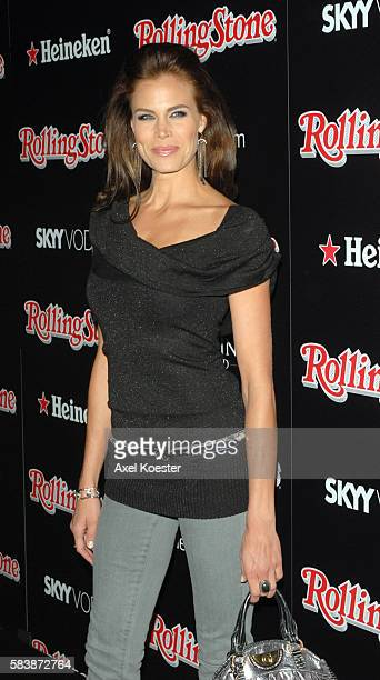 Actress Brooke Burns arrives to the Rolling Stone Magazine celebration of their Annual Hot List at Crimson & Opera in Hollywood.