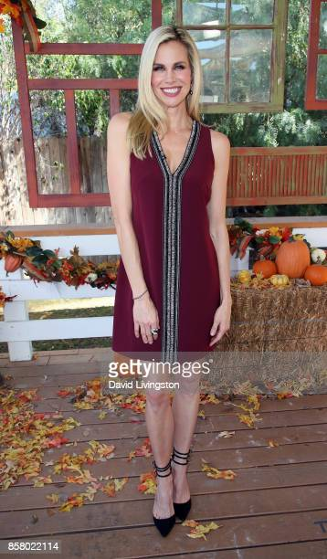 Actress Brooke Burns attends Hallmark's 'Home Family' at Universal Studios Hollywood on October 5 2017 in Universal City California