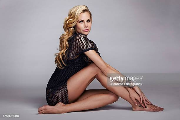 Actress Brooke Burns is photographed for Bello on January 21 2015 in Los Angeles California