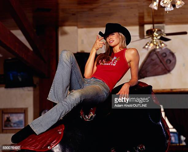Actress Brooke Burns on Mechanical Bull