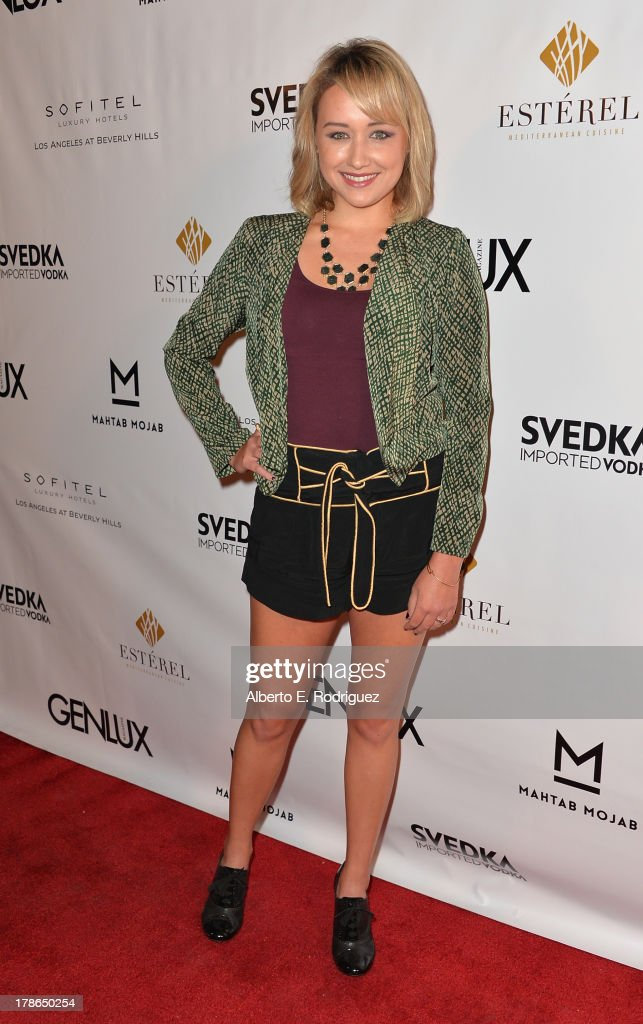 Actress Brooke Coleman arrives to Genlux Magazine's Issue Release party featuring Erika Christensen at The Sofitel Hotel on August 29, 2013 in Los Angeles, California.