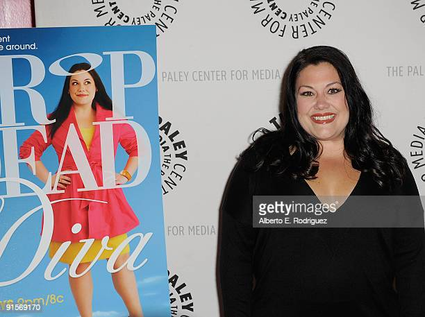Actress Brooke Elliott arrives at the Drop Dead Diva Season One Finale held at the Paley Center for Media on October 7 2009 in Beverly Hills...