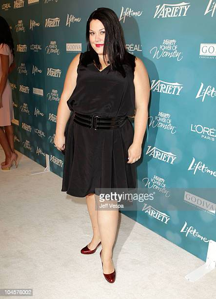 Actress Brooke Elliott arrives at Variety's 2nd Annual Power Of Women Luncheon at the Beverly Hills Hotel on September 30, 2010 in Beverly Hills,...