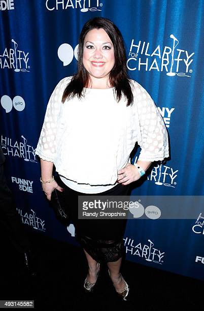 Actress Brooke Elliott attends Hilarity for Charity's Annual Variety Show: James Franco's Bar Mitzvah benefitting the Alzheimer's Association...