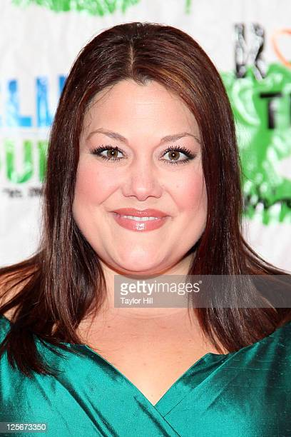 Actress Brooke Elliott attends Rosie's Building Dreams for Kids Gala at The New York Marriott Marquis on September 19 2011 in New York City