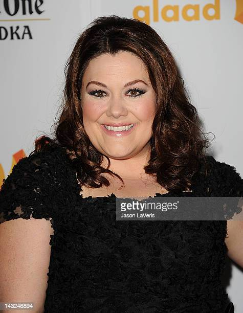 Actress Brooke Elliott attends the 23rd annual GLAAD Media Awards at Westin Bonaventure Hotel on April 21 2012 in Los Angeles California
