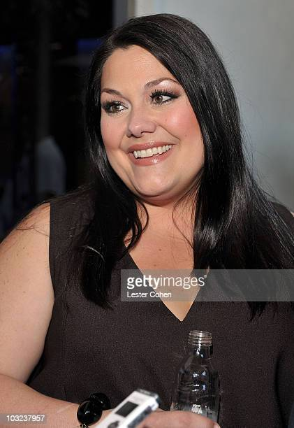 Actress Brooke Elliott attends the Sony Pictures Television TCA cocktail party at Bar 210 at The Beverly Hilton hotel on August 3 2010 in Beverly...