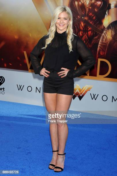 """Actress Brooke Ence attends the premiere of Warner Bros. Pictures """"'Wonder Woman"""" at the Pantages Theatre on May 25, 2017 in Hollywood, California."""