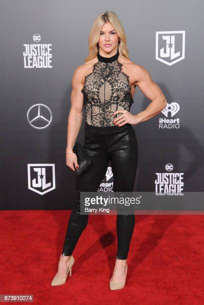 Actress Brooke Ence attends the premiere of Warner Bros. Pictures' 'Justice League' at Dolby Theatre on November 13, 2017 in Hollywood, California.