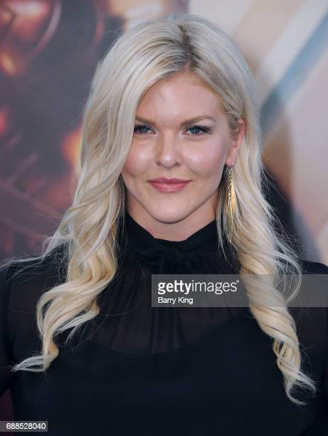 Actress Brooke Ence attends the World Premiere of Warner Bros. Pictures' 'Wonder Woman' at the Pantages Theatre on May 25, 2017 in Hollywood,...