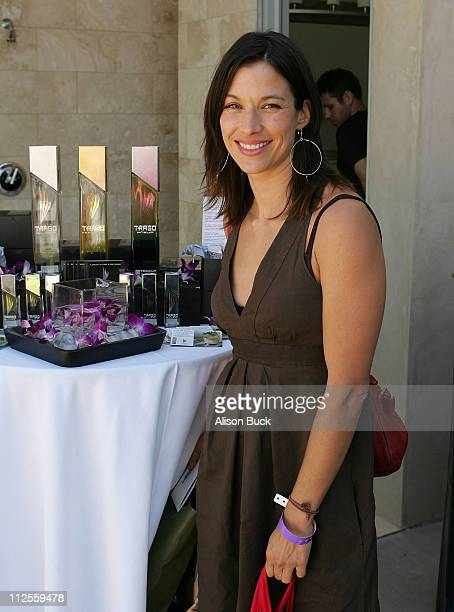 Actress Brooke Langton at the 2007 Kari Feinstein Style Lounge on September 13 2007 in Beverly Hills California