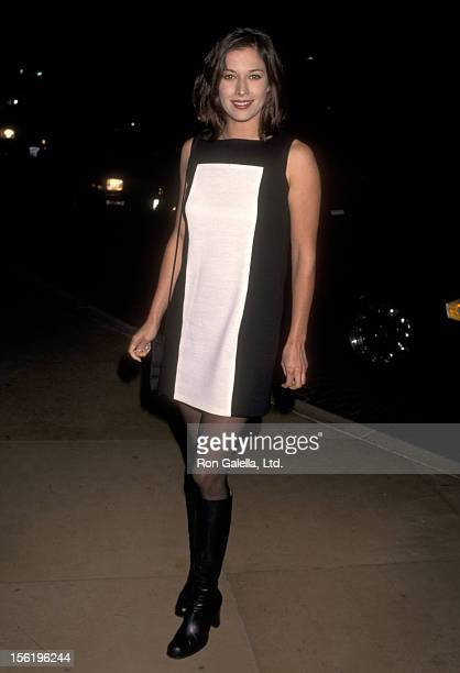 Actress Brooke Langton attending Fulfillment Fund's Courage to Dream Award to Aaron and Candy Spelling on September 29 1996 at the Beverly Hilton...