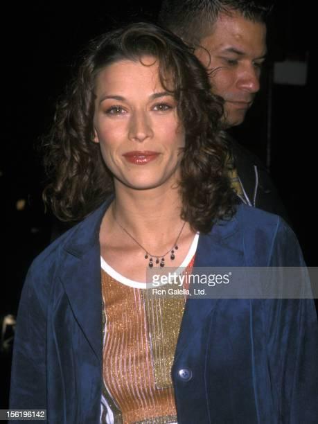 Actress Brooke Langton attending 'Hugo Boss Vegas Night Benefit' on May 22 2001 at Huga Boss Flagship Store in New York City New York