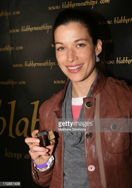 Actress Brooke Langton attends the Kari Feinstein Winter Style Lounge at Social Hollywood on January 10 2008 in Hollywood Califonia