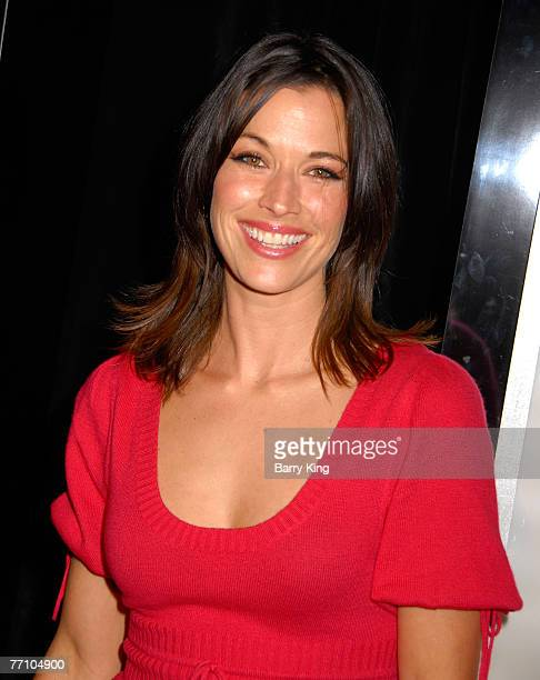 Actress Brooke Langton attends the NBC and Venice Magazine party for new series Life held at Celadon on September 26 2007 in Los Angeles California