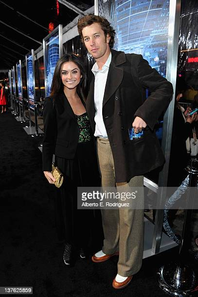 Actress Brooke Lyons arrives at the Los Angeles premiere of Man on a Ledge at Grauman's Chinese Theatre on January 23 2012 in Hollywood California