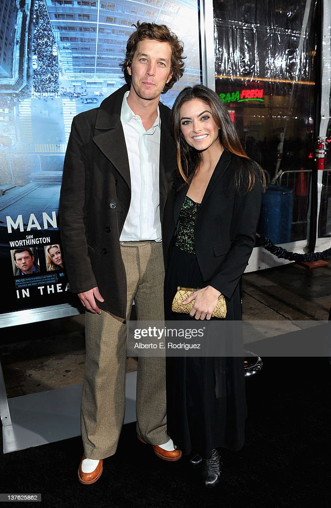 Actress Brooke Lyons Arrives At The Los Angeles Premiere Of Man On