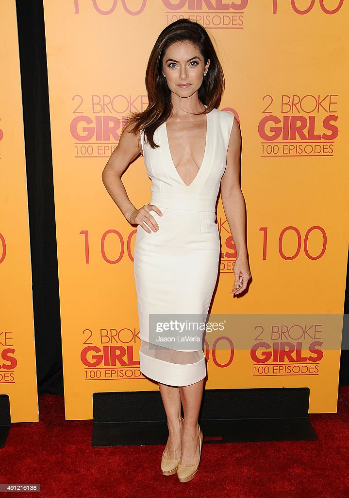 Actress Brooke Lyons Attends The 100th Episode Celebration Of Cbs