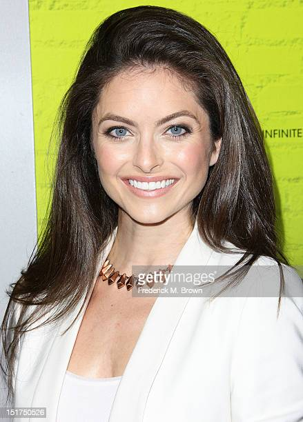 Actress Brooke Lyons attends the Premiere Of Summit Entertainment's The Perks Of Being A Wallflower at the Arclight Cinerama Dome on September 10...